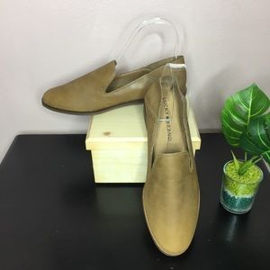 NWOB Lucky Brand Cahill Loafer Size 7 Beige